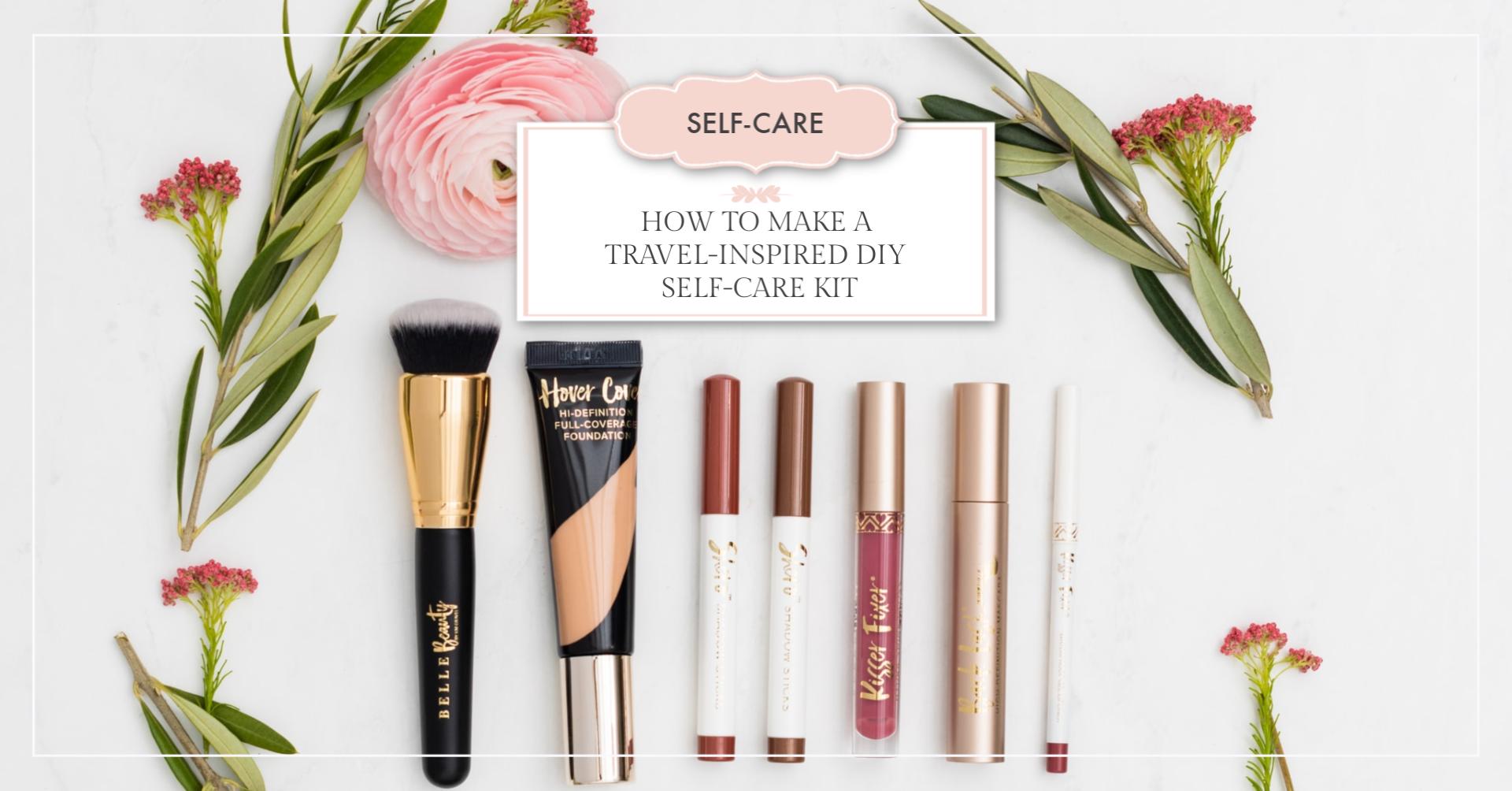 travel-inspired DIY self-care kit article header