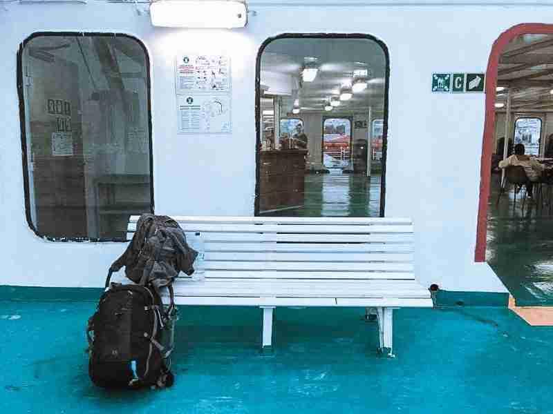 santorini on a budget ferry the fearless wanderess